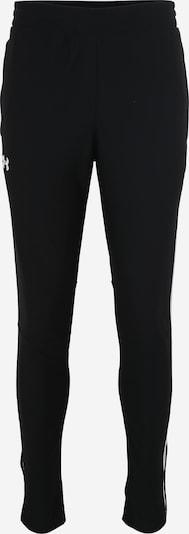 UNDER ARMOUR Sporthose 'Pique' in schwarz / weiß, Produktansicht