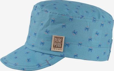 pure pure by BAUER Cap in navy / rauchblau / dunkelorange, Produktansicht
