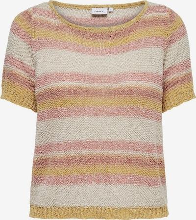 ONLY Pullover in beige / senf / rosé, Produktansicht