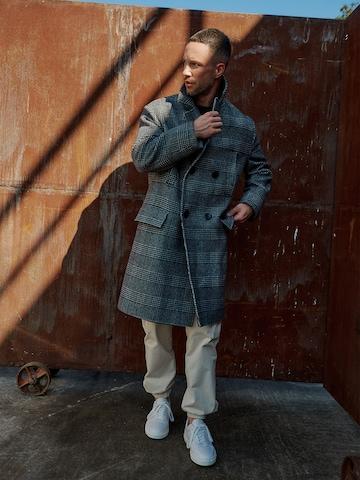 Checkered Coat Look