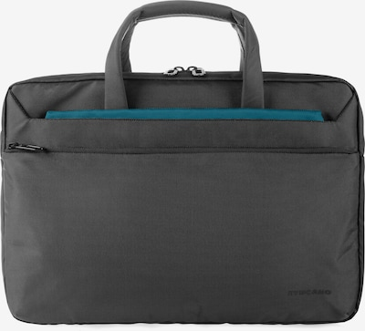 TUCANO Aktentasche Laptop business slim bag in dunkelgrau / schwarz, Produktansicht
