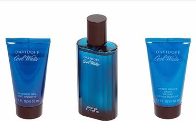 Davidoff 'Cool Water', Duftset (3 tlg.) in blau, Produktansicht