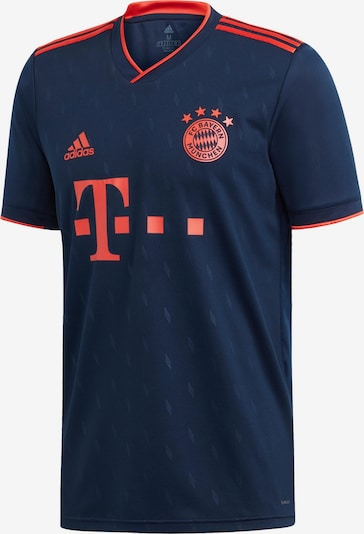ADIDAS PERFORMANCE Fußballtrikot 'FC Bayern 19/20 3rd' in navy / orangerot, Produktansicht