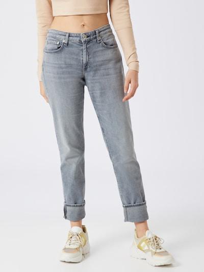 rag & bone Jeans 'Dre Low-Rise Slim Boyfriend' in grau, Modelansicht