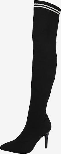 BUFFALO Zakolanówki 'LEMON DROP' w kolorze czarny / białym, Podgląd produktu