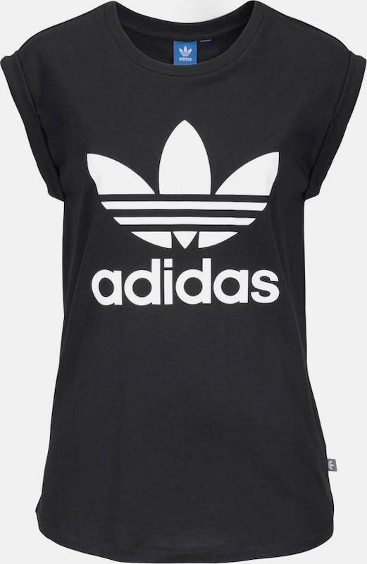 ADIDAS ORIGINALS T-Shirt 'BF TREFOIL ROLL UP TEE'