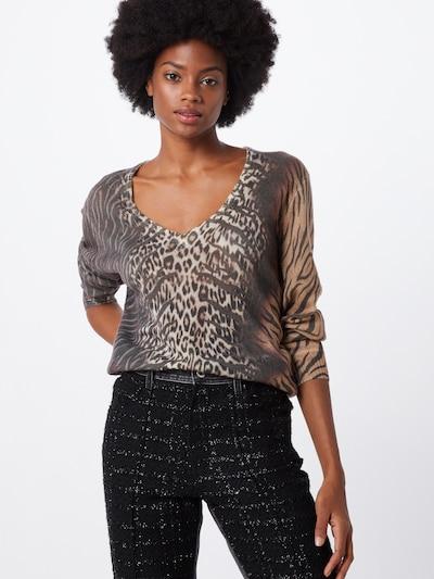 PRINCESS GOES HOLLYWOOD Sweter w kolorze beżowy / brązowy / czarnym: Widok z przodu