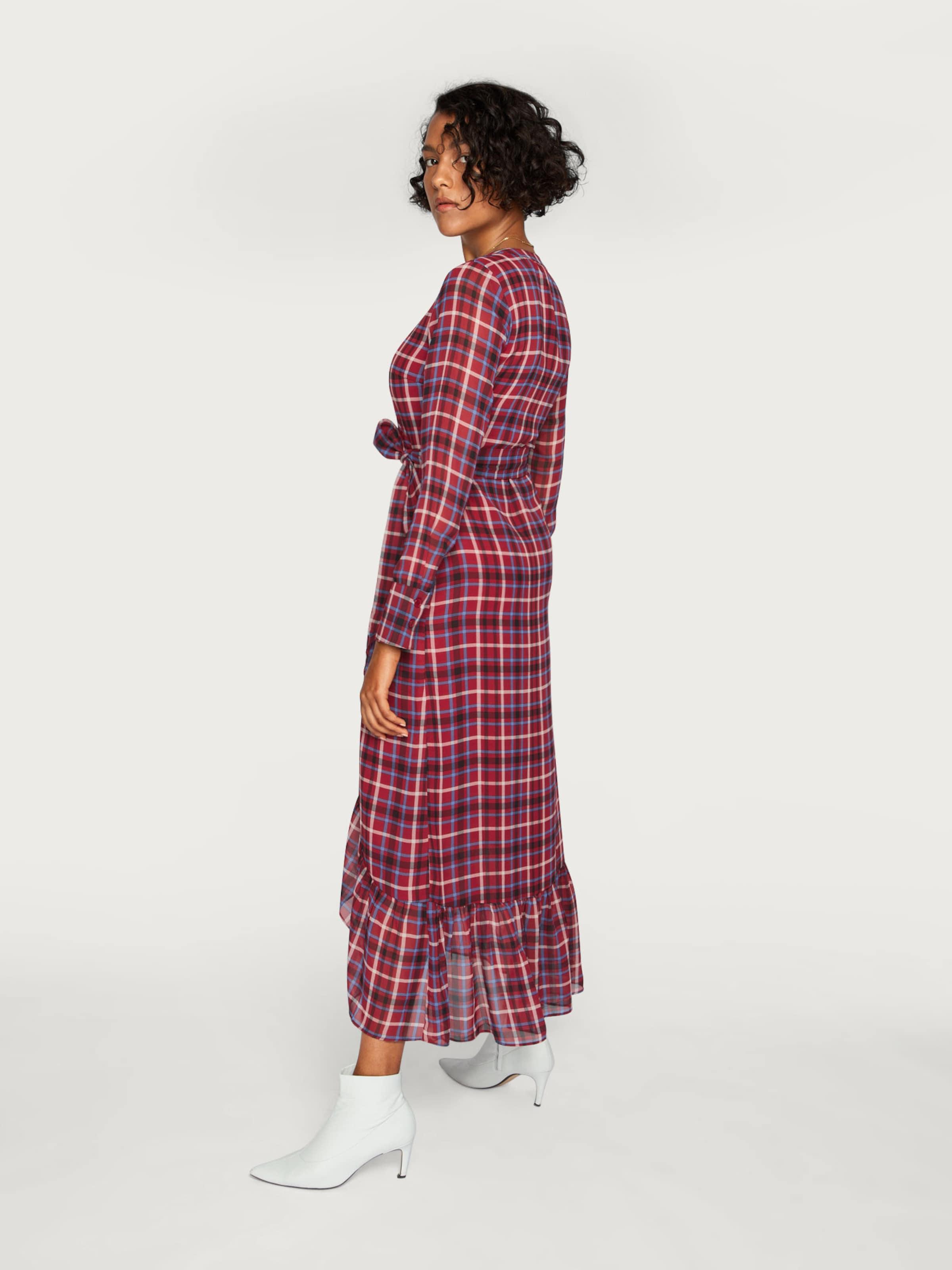 Kleid Edited 'adina' In Bordeaux CremeBlau Ybf76gy