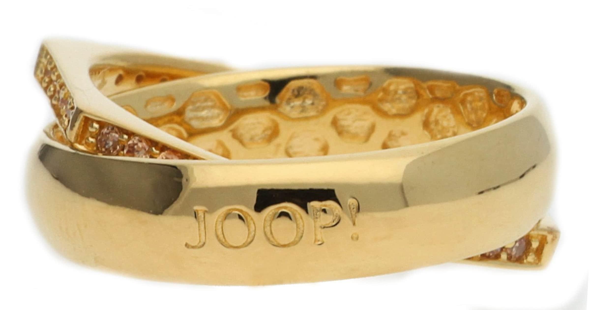 JOOP! Damen Fingerring Silber Gold Edged Guter Service Klassisch Günstige Preise Extrem Online Steckdose Genießen rJ8ib
