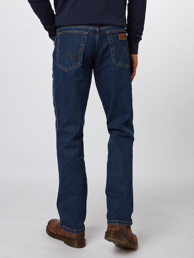 WRANGLER Džinsi 'Texas Stretch' pieejami zils džinss: Aizmugures skats