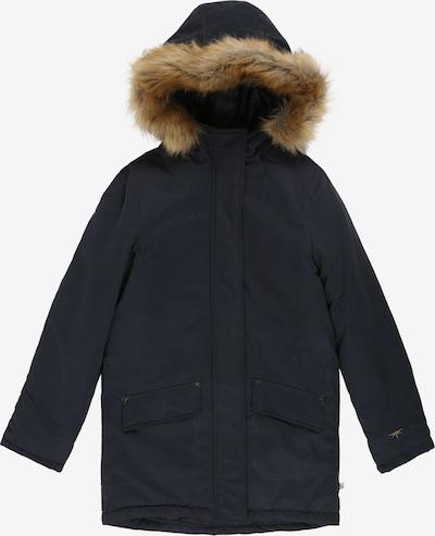 Petrol Industries Winterjas in de kleur Nachtblauw, Productweergave