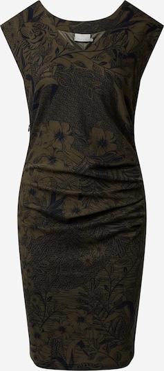 Kaffe Kleid 'India' in dunkelgrün, Produktansicht