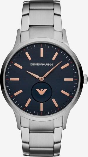 Emporio Armani Armbanduhr in rosegold / schwarz / silber, Produktansicht