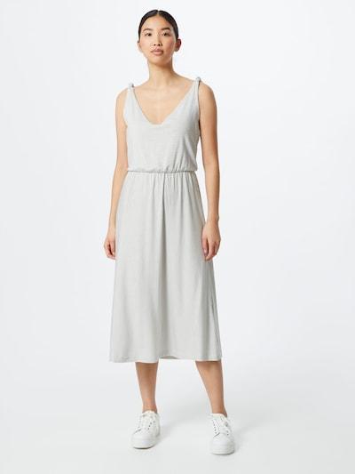 TOM TAILOR Letní šaty - černá / offwhite, Model/ka