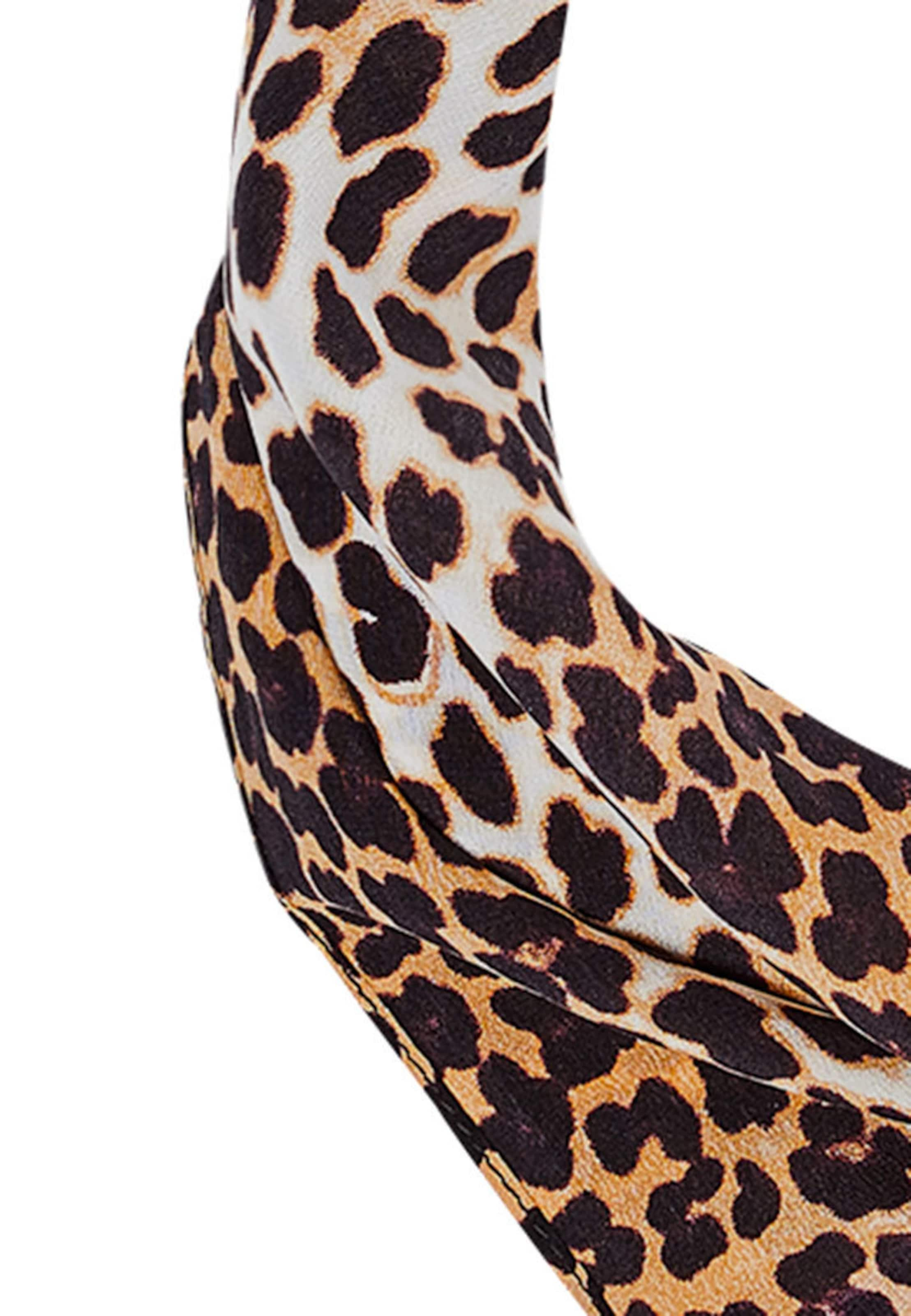 Kaufen Angebot Billig Einkaufen Verkauf Erschwinglich HALLHUBER Seidentuch mit Leoparden-Print fevIu0iM