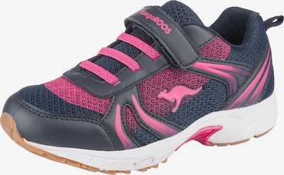 KangaROOS Sportschuhe 'Niko Ev' in anthrazit / pink, Produktansicht