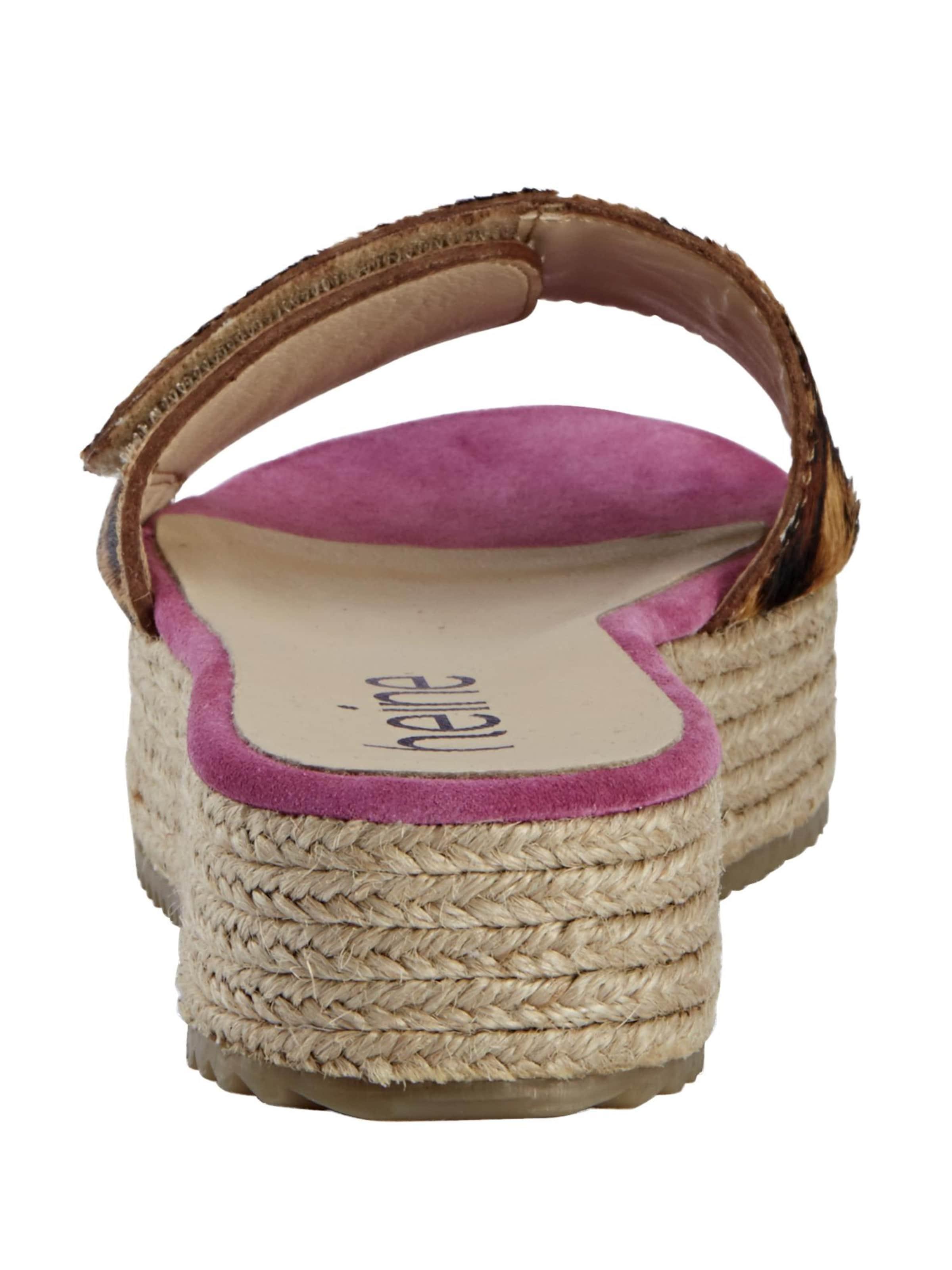 Klettverschluss Weitenregulierung Pink In Mit Pantolette Heine Zur IbeY2HEWD9