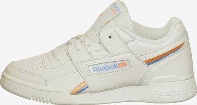 Reebok Classics Sneaker 'Workout Lo Plus' in rauchblau / pastellorange / eierschale, Produktansicht