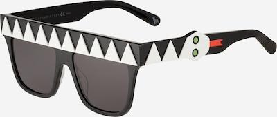 Stella McCartney Sonnenbrille in schwarz / weiß, Produktansicht