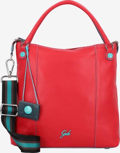 Gabs Handtas 'GSac' in de kleur Turquoise / Rood, Productweergave