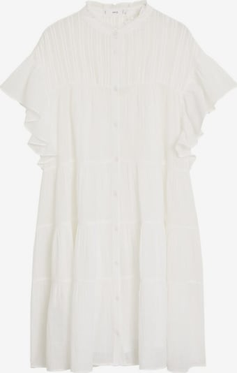 MANGO Kleid in weiß, Produktansicht
