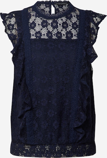 Dorothy Perkins Top 'NVY LACE RUFFLE TOP' in navy, Produktansicht