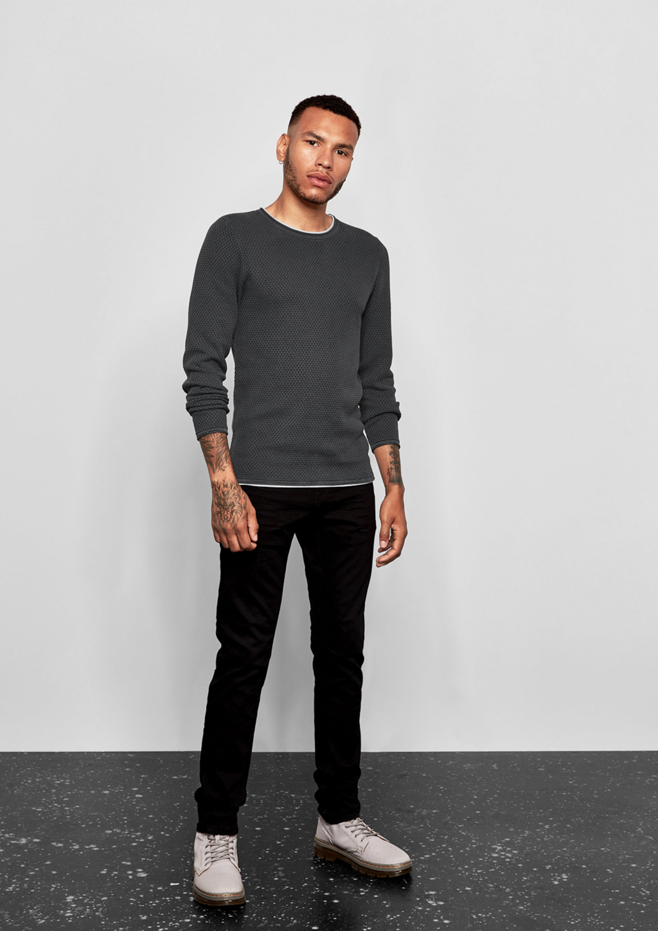 By s Q Graphit Designed Pullover In XPTOwZiuk