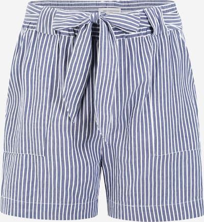 ONLY Carmakoma Shorts in taubenblau / weiß, Produktansicht