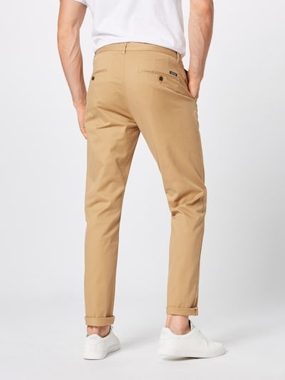 SCOTCH & SODA Pantalon chino 'Stuart' en sable: Vue de dos