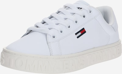 Tommy Jeans Sneakers laag 'JAZ 1A' in de kleur Wit, Productweergave