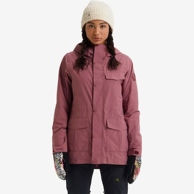 BURTON Snowboardjacke 'Runestone' in rosé: Frontalansicht
