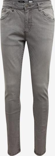 Džinsai 'Slim Fit' iš Urban Classics , spalva - pilko džinso: Vaizdas iš priekio