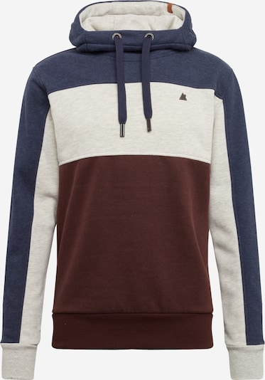 Alife and Kickin Sweatshirt in de kleur Blauw / Bordeaux, Productweergave