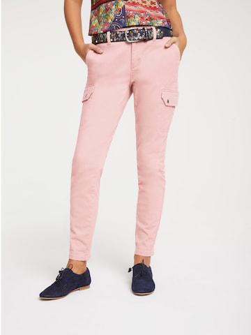 Pantaloni cargo di heine in rosa