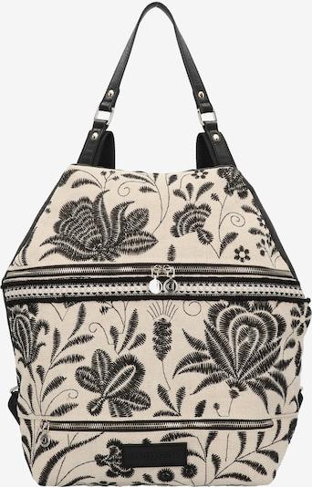 Desigual Rucksack in schwarz / weiß, Produktansicht
