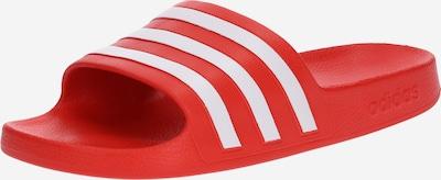 ADIDAS PERFORMANCE Pantolette 'Aqua Adilette' in rot / weiß, Produktansicht