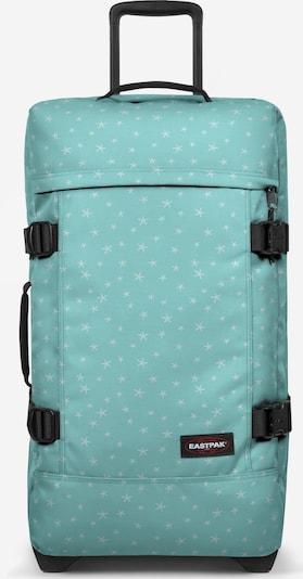 EASTPAK Reistas 'Tranverz' in de kleur Turquoise / Wit, Productweergave