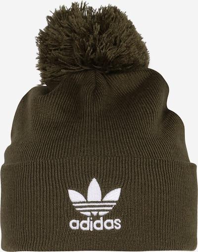 ADIDAS ORIGINALS Mütze 'AC Bobble' in khaki / weiß, Produktansicht