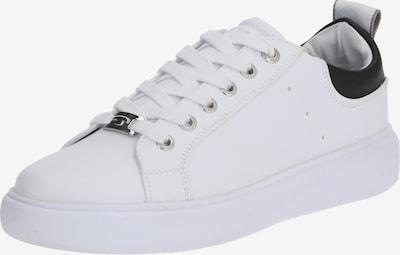 fekete / fehér TOM TAILOR Rövid szárú edzőcipők, Termék nézet