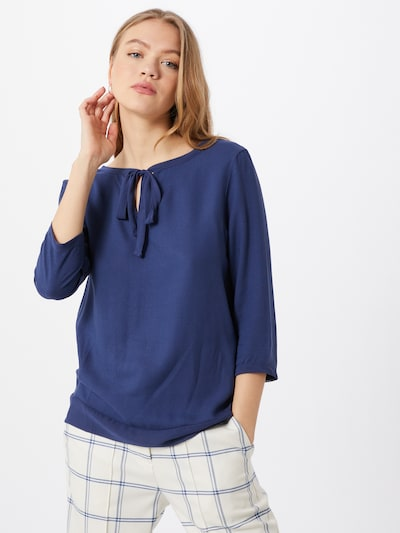 Rich & Royal Bluse in marine: Frontalansicht