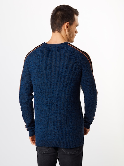 Only & Sons Pullover 'SIMON' in blau: Rückansicht