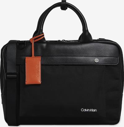 Calvin Klein Laptoptasche in braun / schwarz, Produktansicht