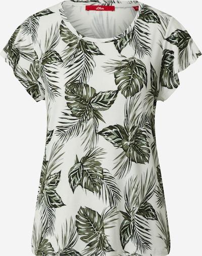 s.Oliver Shirt in creme / mischfarben, Produktansicht