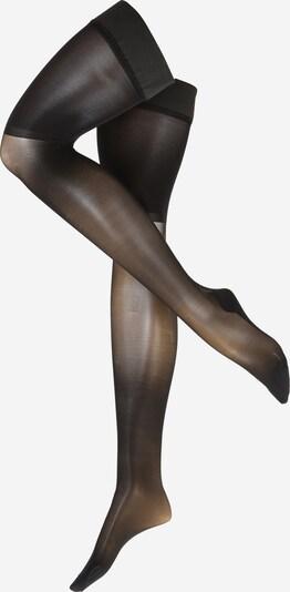 Kojinaitės virš kelių '30DEN NOIR Flower' iš Hunkemöller , spalva - juoda, Prekių apžvalga