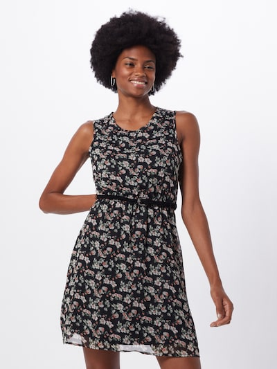ONLY Summer dress 'MEDINA' in Mixed colours / Black, View model