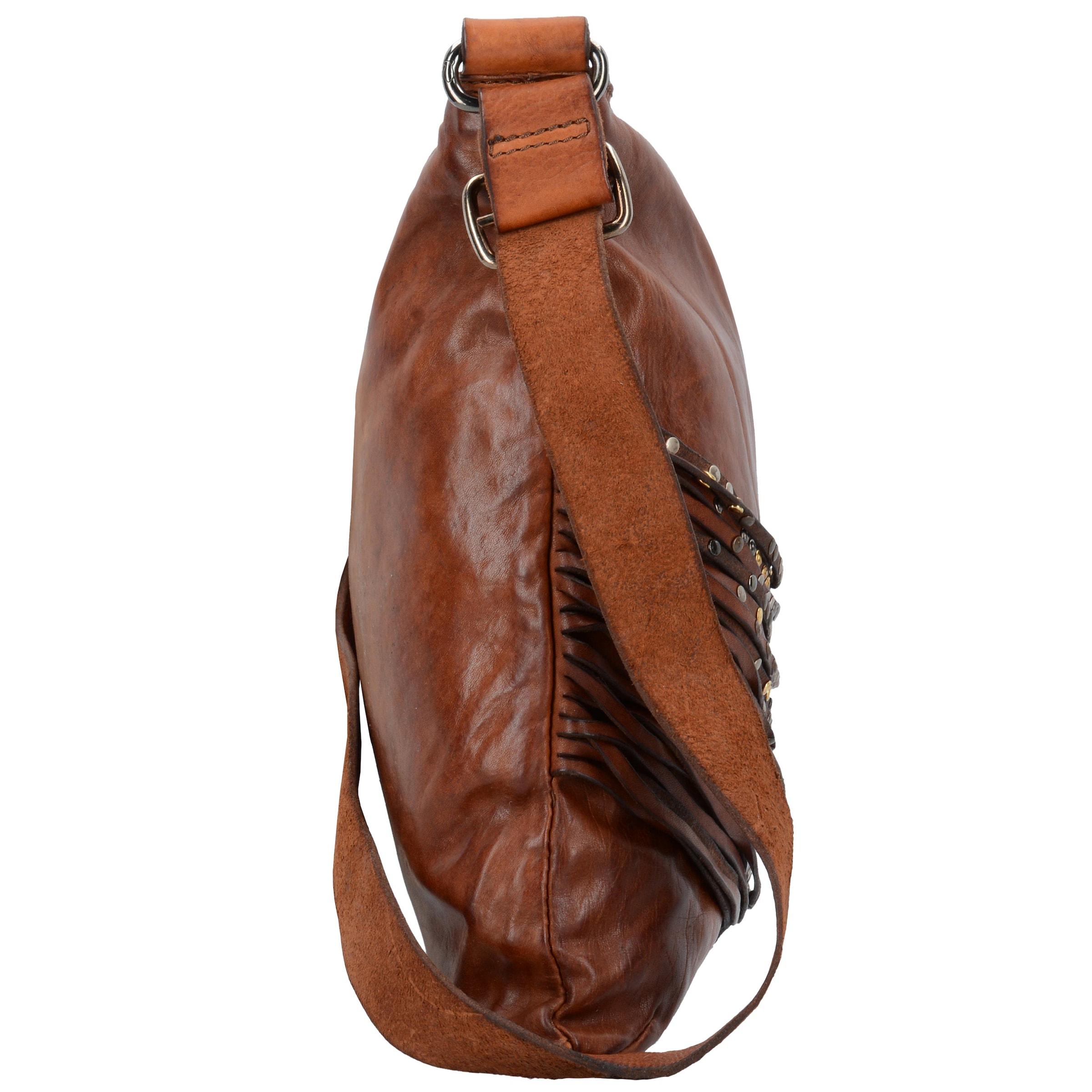 Echt Verkauf Online Auslass Besuch Neu Campomaggi 'Bucaneve' Schultertasche Leder 38 cm OKABsClR4