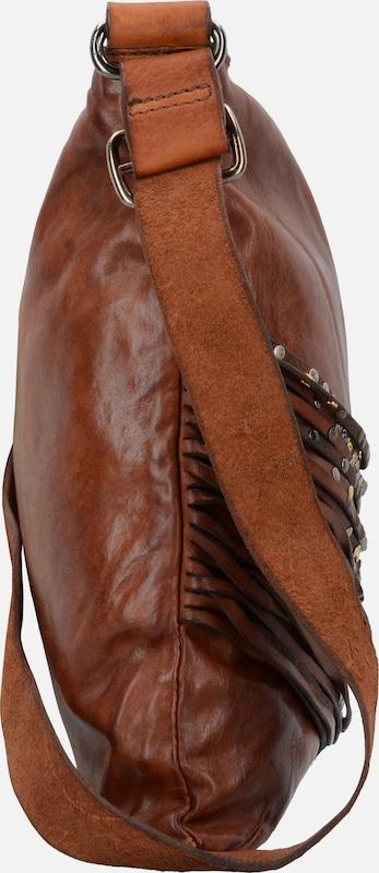 Campomaggi 'Bucaneve' Schultertasche Leder 38 cm