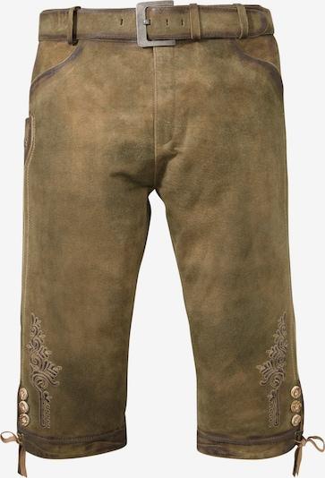 COUNTRY LINE Lederhose in braun, Produktansicht