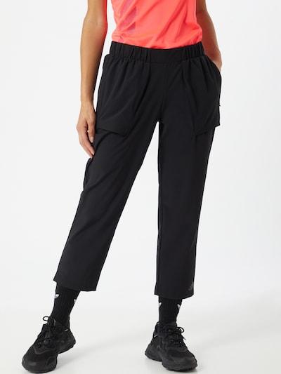 ADIDAS PERFORMANCE Športne hlače | črna barva: Frontalni pogled