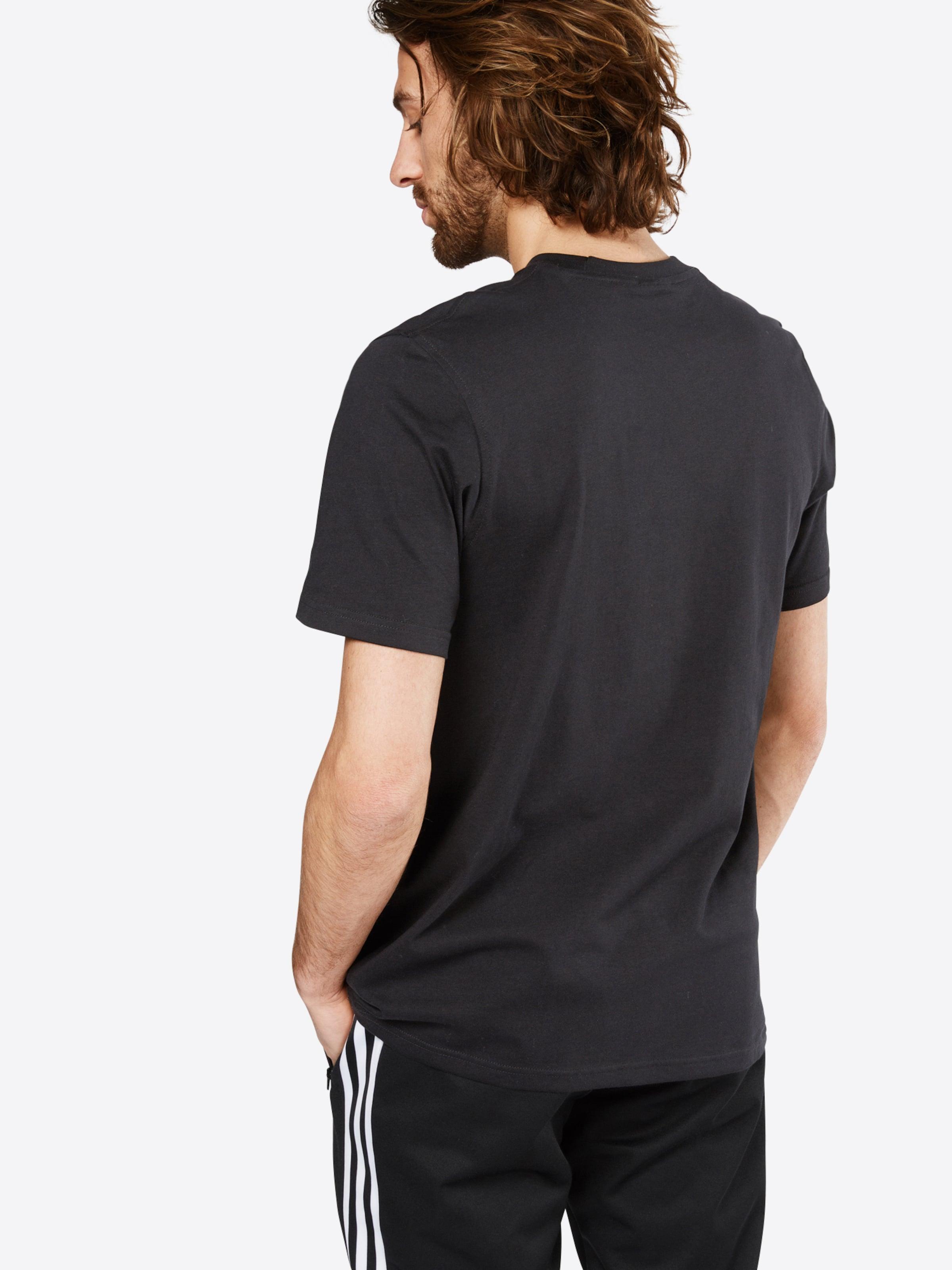 Adidas T Originals shirt NoirBlanc En 'trefoil' lPXOiTwZku